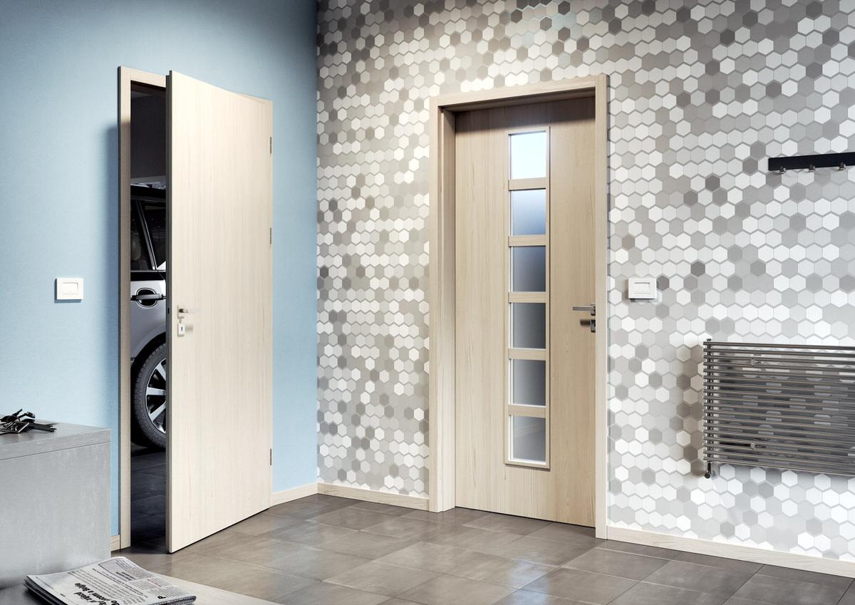 Interiérové dveře SAPELI ELEGANT 56 - protipožární, protikouřové