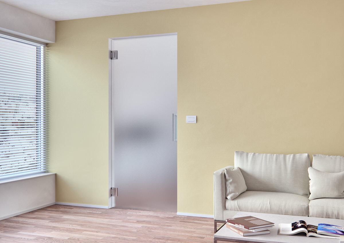 Skleněné dveře Sapeli, Sapglass, satinato bílé