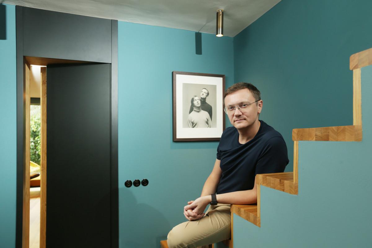 Petr Novague s dveřmi MUTEO