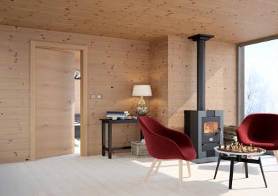 Dřevěné interiérové dveře SAPELI TENGA 10 - dekor dub sukatý