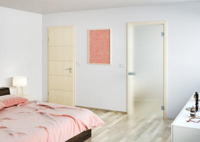Dřevěné interiérové dveře SAPELI NOTE 14 - dekor javor