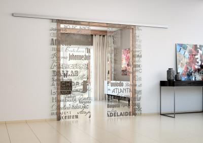 Skleněné dveře Sapeli, Sapglass, digisklo, posuvné