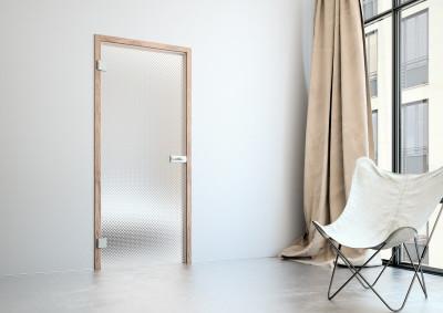 Skleněné dveře Sapeli, Sapglass, mastersoft, čiré
