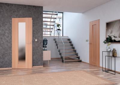 Dřevěné interiérové dveře SAPELI TALIA 25 - dekor třešeň, bezfalcové