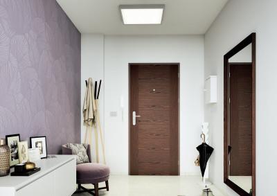 Bezpečnostní dveře do bytu SAPELI TENGA 25 - dřevěné, zvukotěsné