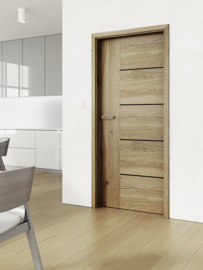 Interior door SAPELI ALEGRO 15 - material veneer knoted oak